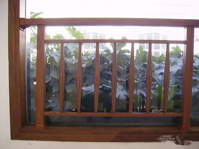 木质阳台护栏价格