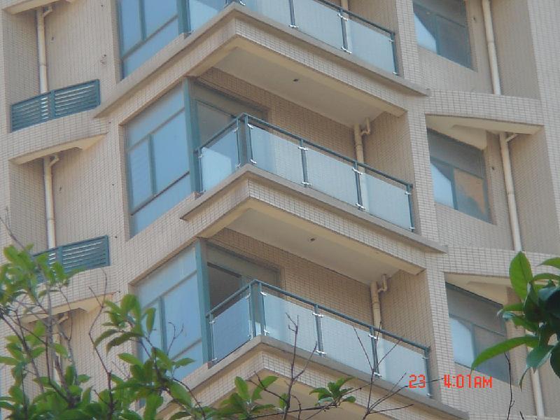 阳台安全玻璃栏板bl018